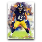 Hair-larious: Troy Polamalu Signs First Cards Since 2003 5