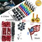 Complete Fairing Bolt Kit Fastener Screws Nuts Clip Fit For Buell XBRR 2006-2007