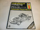 Haynes Chevrolet Corvette Repair Manual - V8 1968 to 1982 - 327 350 427 454