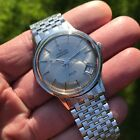 Stunning vintage 1960s Zenith AF P cal 408 grey dial 34mm 28J automatic watch