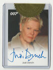 Top 10 James Bond Autographed Trading Cards 29