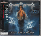 SONATA ARCTICA / DON'T SAY A WORD JAPAN CD W/OBI