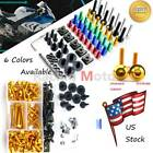 Motorcycle Fairing Bolt Screws Kit Clip Nuts Fastener For BMW R1200S 2006-2008
