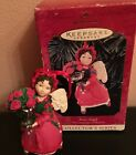 ROSE ANGEL THE LANGUAGE OF FLOWERS KEEPSAKE ORNAMENT COLLECTOR'S SERIES 1999