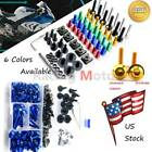 Motorcycle Fairing Bolt Screws Kit Clip Nuts Fit For BMW S1000RR K46 2009-2014