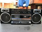 Vintage FISHER Boom Box PH-W405 Boombox High-Fidelity~Cassettes Not Working