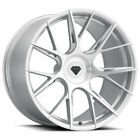 20 Blaque Diamond BD F18 Silver Concave Forged Wheels Rims Fits Acura TL