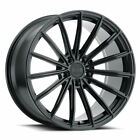 22 XO London Matte Black 22x9 Concave Multispoke Wheels Rims Fits Audi Q5