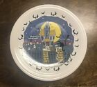 "Fiesta Dinnerware, HALLOWEEN NIGHTS, Haunted House, 11 7/8"" Round Platter"