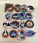 Vintage Lot 15 NASA Stickers of Space Shuttle Columbia Challenger MINT