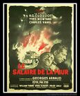 THE WAGES OF FEAR On Linen 4x6 ft French Grande Movie Poster Original 1953