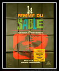 WOMAN IN THE DUNES 4x6 ft French Grande Movie Poster Original 1964