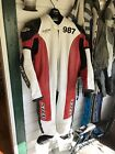 SYED one piece leather motorcycle suit  Made PRO Quality XL