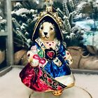 Radko 2005 MUFFY QUEEN OF HEARTS VanderBear Christmas Glass Ornament 1012640