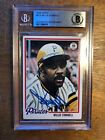 1978 Topps Willie Stargell AUTHENTICATED AUTOGRAPH Card