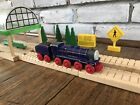 Thomas the Train HANK & HANK'S TENDER Wooden Railway Toy Learning Curve 2003