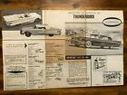 1962 AURORA '58-60 Ford Thunderbird INSTRUCTION SHEET ONLY from Kit No. 520