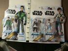 3 New Star Wars action figures mixed lot