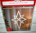 7 New 18 Nativity Christmas Star Lighted Window Display Outdoor Wall Decoration