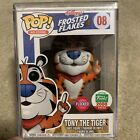Funko Pop Ad Icons Flocked Tony The Tiger! Stack Included! Funko Shop Exclusive!