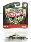 Hot Wheels Military Rods Olds 442 17 of 26 Metal Body
