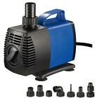 1720 GPH Submersible Water Pump Fish Tank Pond Fountain Pool Aquarium Hydroponic