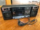 Vintage SONY CFS-1000 AM/FM Cassette Boombox. TESTED for operation!