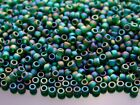 250g 179F Transparent Rainbow Frosted Green Emerald Toho Seed Beads 8 0 3mm WHOL