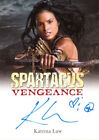 2013 SPARTACUS VENGEANCE PREMIUM PACKS - AUTOGRAPH KATRINA LAW as Mira V2