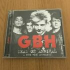 G.B.H. - Dead On Arrival  2 CD 50 TRACK ANTHOLOGY BEST OF INCUDES  RARITIES