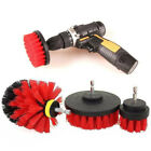 Auto Car Wash Brush Cleaner Hard Bristle Drill Auto Detailing Cleaning Tool 3pcs