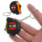 Pocket Retractable Ruler Tape Measure Key Chain Mini Size Metric 1m Random color