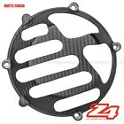 MATTE Monster 900 1000 Engine Clutch Gearbox Case Cover Guard Cowl Carbon Fiber