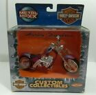 Metal Maxx - Harley Davidson - Die Cast- FXDWG Dyna Wide Glide - Purple - New