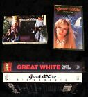 GREAT WHITE Once Bitten & Big Goodbye Single Capitol Records ROCK Cassette Tapes
