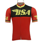 BSA Vintage Cycling Jersey cycling Short Sleeve Jersey