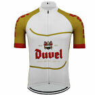 DUVEL Beer Vintage Cycling Jersey cycling Short Sleeve Jersey
