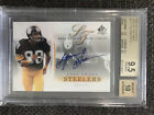 2003 SP Authentic Sign of the Times Lynn Swann Auto 125 BGS 9.5 10 Steelers