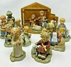 GOEBEL BERTA HUMMEL NATIVITY SET 1996 14 Pieces including Stable