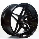 19 Staggered Marquee 3259 Wheels Gloss Black Rims