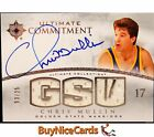 2007-08 Chris Mullin Upper Deck Ultimate Commitment Game Used Patch Auto 25