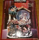 Kirkland Signature Musical Water Globe with Revolving Base Nativity CHRISTMAS