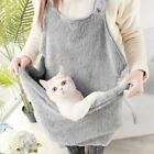 Small Pet Dog Cat Sleep Bag Outdoor Soft Warm Bed Carrier Apron w Pouch Bag USA