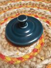 Fiesta Juniper Sugar Bowl Lid  Discontinued Color And Style