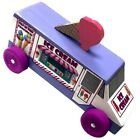 Ice Cream Truck Pinewood Derby Car Kit For Girls and Boys Derby Monkey