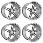 20 Rohana RFX15 Silver 20x9 Forged Concave Wheels Rims Fits Nissan Maxima