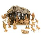 Vintage 1983 Fontanini Depose 5 Nativity Scene Crche Lot 16 Figures Italy