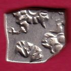 ANCIENT INDIA KING ASHOKA PUNCHMARK RARE SILVER COIN C46