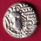 ANCIENT INDIA GADHAYA DYNASTY KINGS PORTRAIT RARE SILVER COIN C53
