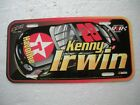 KENNY IRWIN #28 TEXACO FORD ROBERT YATES ACTION LICENSE PLATE FAN FUELER BRAND
